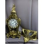 LOUIS XV PERIOD CLOCK SIGNED GOSSELIN