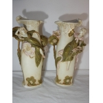 PAIR OF ART NOUVEAU PERIOD VASES