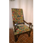 17th CENTURY FRENCH ARMCHAIR