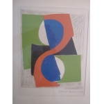 LITHOGRAPHY signed by SONIA DELAUNAY TERK