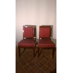 PAIR OF FRENCH EMPIRE PERIOD CHAIRS