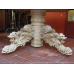 LARGE FRENCH EXTENDING TABLE
