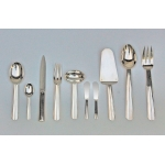 "CUTLERY ""Chantaco""  BT JEAN PUIFORCAT (38 pieces)"