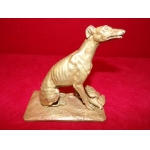 BRONZ GREYHOUND  AND DUCK