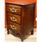 Small Chest Of Drawers In Walnut And Oak 18Th Century