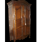 Provencal cupboard , walnut. 18 th