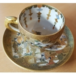 SATSUMA CUP AND SAUCER