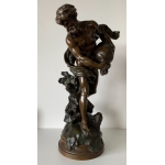 BRONZE signed by Mathurin MOREAU