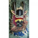 Beautiful African Mask Horns Collected First Half Of The XX Eme. Africa