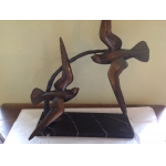 BRONZE SCULPTURE SIGNED IRENEE ROCHARD