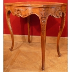 Cabaret Coffee Table in walnut Regence Style 19Th Century
