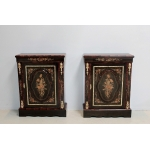 PAIR OF NAPOLEON III PERIOD CABINETS
