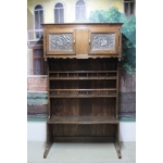 19TH C NORMAND OAK DRESSER
