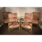 FRENCH DIRECTOIRE PERIOD ARMCHAIRS