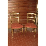 PAIR OF NAPOLEON III PERIOD CHAIRS