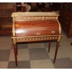 LOUIS XVI STYLE CYLINDER TOP DESK