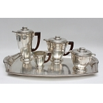 ART DECO PERIOD TEA AND COFFEE SERVICE