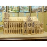 MAQUETTE OF A GOTHIC CATHEDRAL