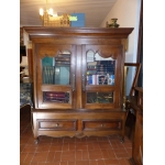 LOUIS XV PERIOD BOOKCASE