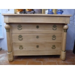 FRENCH EMPIRE STYLE CHEST OF DRAWERS