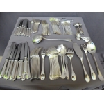 CHRISTOFLE SILVER PLATE CUTLERY