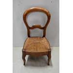 LOUIS PHILIPPE PERIOD CHILD'S CHAIR