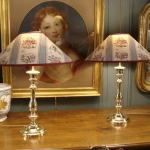 PAIR OF FRENCH LAMPS