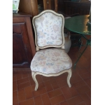Seat Louis XV Period Chair Painted Queen Circa 1st Half XVIII Century