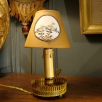 Small Painted Sheet Lamp