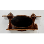 ART NOUVEAU PERIOD WALL SHELF