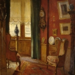 Interior Scene From Stobbaerts