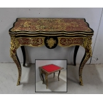NAPOLEON III PERIOD CARD TABLE
