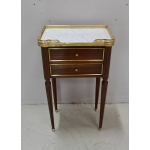 "LOUIS XVI STYLE ""CHIFFONIERE"" TABLE"