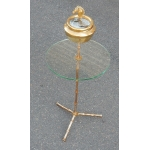 1970 'Ashtray Brass Tripod Maison Bagués at the Head of Horse