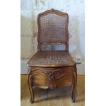 LOUIS XV  PERIOD COMMODE CHAIR