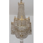 FRENCH RESTAURATION PERIOD CEILING LIGHT