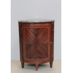LOUIS XVI PERIOD CORNER CUPBOARD