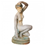 A woman's nude in cast iron 1880