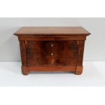 RESTAURATION PERIOD MINIATURE CHEST OF DRAWERS