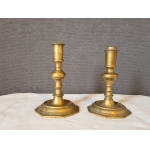 PAIR OF FRENCH REGENCY PERIOD CANDLESTICKS