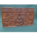CARVED WALNUT BOX