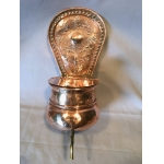 19th C COPPER SACRISTY FOUNTAIN