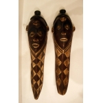 PAIR OF AFRICAN MASKS