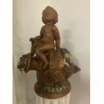 EARTHENWARE STATUETTE