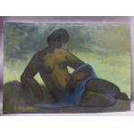OIL ON CANVAS SIGNED PAUL CHATELAIN