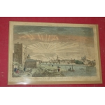 18th CENTURY OPTICAL PRINT OF FLORENCE