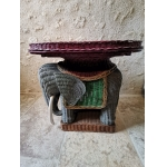 WICKER ELEPHANT