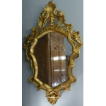Mirror style Louis XV carved and gilded
