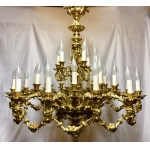 LOUIS IV STYLE CHANDELIER
