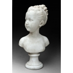 MARBLE BUST by Jean-Antoine Houdon ( 1741/1828)